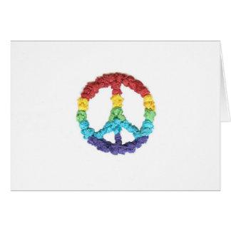Karate Kat Graphics peace notecards Card