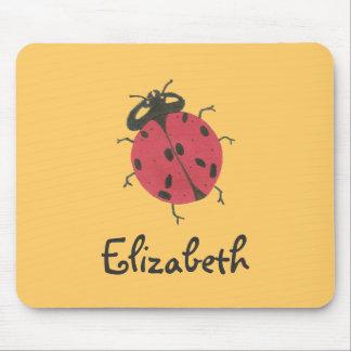 Karate Kat ladybug ID mousepad