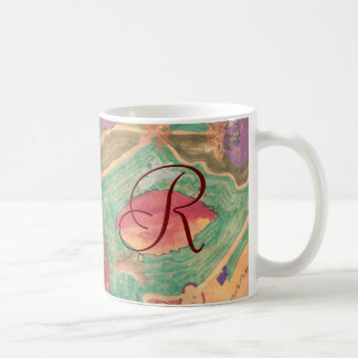 Karate Kat lovely leaves ID Coffee Mug