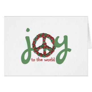 Karate Kat peace-and-joy Card