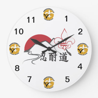karate kicks clock