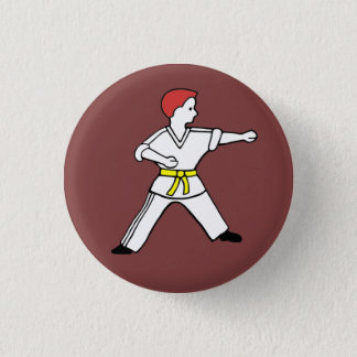 Karate Kid 11 Button