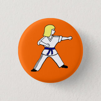 Karate Kid 14 Button