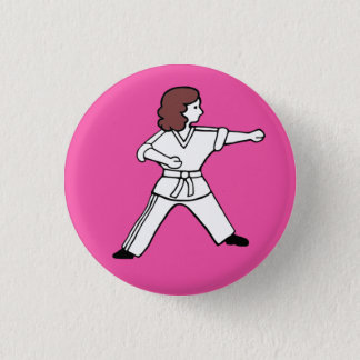 Karate Kid 16 Button