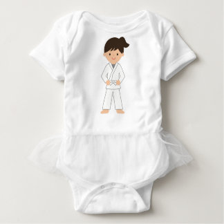 Karate Kid Baby Bodysuit
