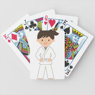 Karate Kid Bicycle Playing Cards