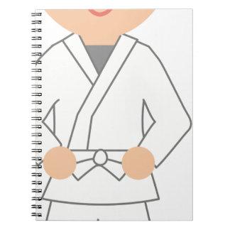 Karate Kid Notebook