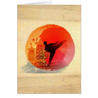 karate man Card