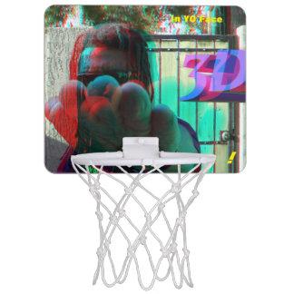 Karate Man Ronnie Little IN Yo Face Mini Basketball Hoop