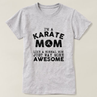 Karate Mom Vintage (Black) T-Shirt