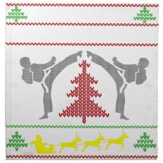 karate napkin