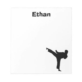Karate Personalized Notepad