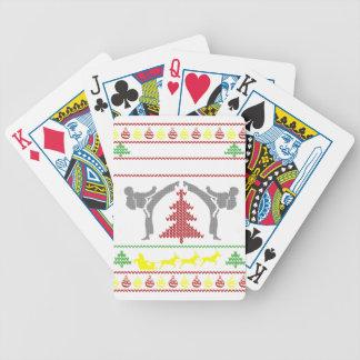 karate poker deck