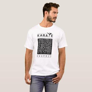 Karate - Promise - Respect T-Shirt