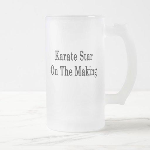 Karate Star On The Making Mugs