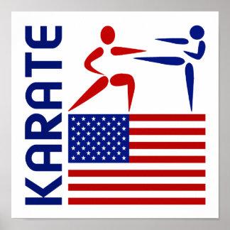 Karate United States Poster