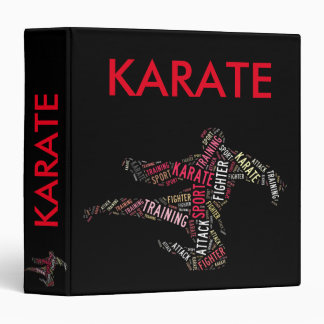 Karate Vinyl Binders