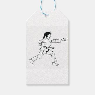 Karate Womyn Pack Of Gift Tags