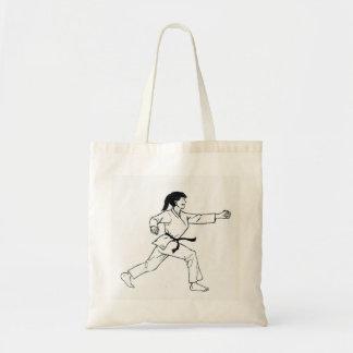 Karate Womyn Tote Bag