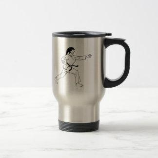 Karate Womyn Travel Mug