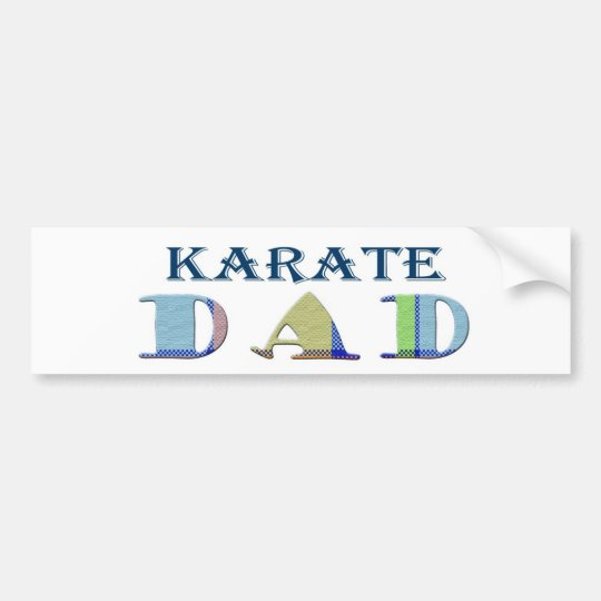 KarateDad Bumper Sticker