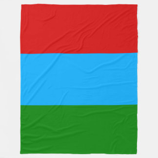 Karelia Flag Fleece Blanket