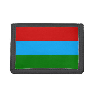 Karelia Flag Tri-fold Wallet