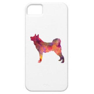 Karelian Bear Dog in watercolor iPhone 5 Covers