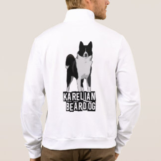 Karelian Bear Dog - White Jacket