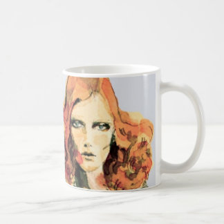 Karen Elson Watercolor Mug