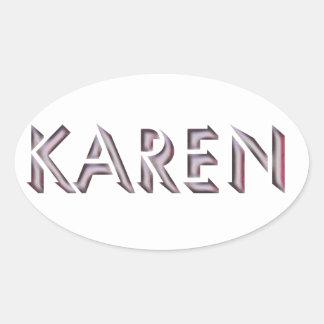 Karen sticker name