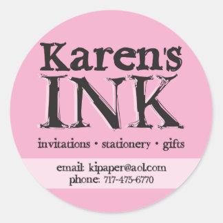 Karen's Ink sticker