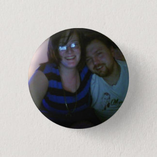 Karina and Henry 1 Inch Round Button