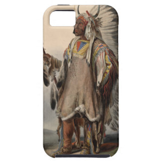 Karl Bodmer - A Mandan chief Case For The iPhone 5