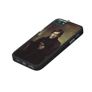 Karl Bryullov- Portrait of the Poet and Playwright iPhone 5/5S Covers