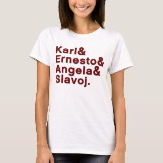 Karl & Ernesto & Angela & Slavoj T-Shirt