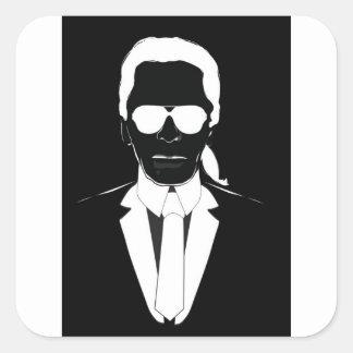 Karl Lagerfeld Square Sticker