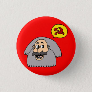Karl Marx 1 Inch Round Button