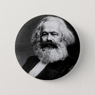 Karl Marx 2 Inch Round Button