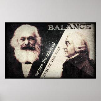 Karl Marx and Adam Smith the zen of Print