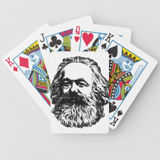 Karl Marx - Communism Bicycle Playing Cards