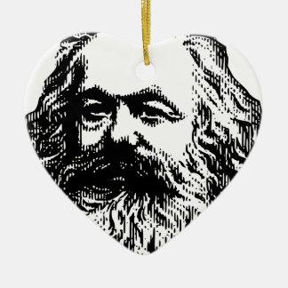 Karl Marx - Communism Ceramic Ornament
