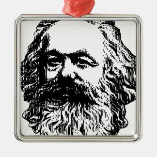 Karl Marx - Communism Metal Ornament