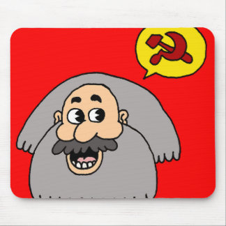 Karl Marx Mouse Pad