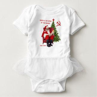 Karl Marx Santa Baby Bodysuit