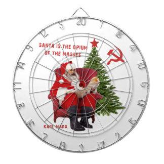 Karl Marx Santa Dartboard