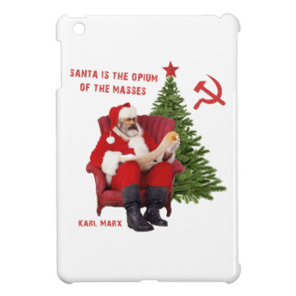 Karl Marx Santa iPad Mini Cover