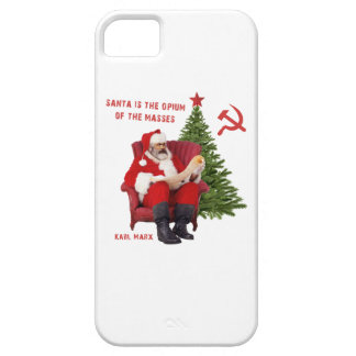 Karl Marx Santa iPhone 5 Cover