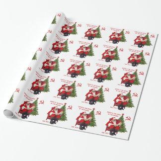 Karl Marx Santa Wrapping Paper
