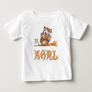 Karl Owl Baby T-Shirt